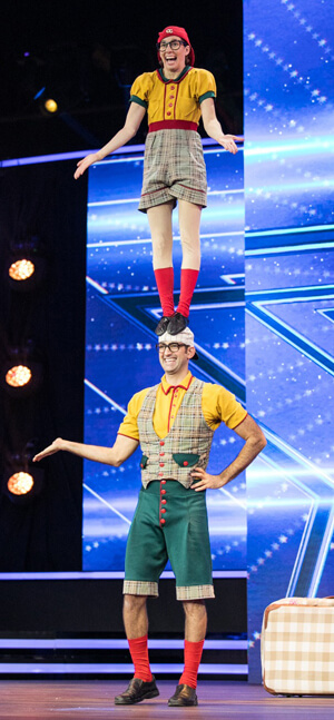 The Nerds circus act